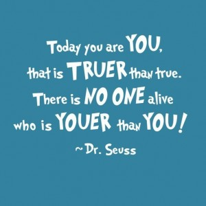 Dr. Suess Motivational Quotes