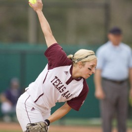 Amanda Scarborough - Texas A&M Softball Pitcher